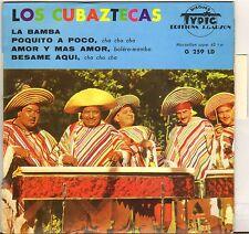 "LOS CUBAZTECAS ""LA BAMBA"" LATIN JAZZ 60'S EP TYPIC 259"