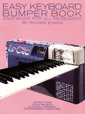 Easy Keyboard Bumper Songs Learn to Play POP Piano Organ SONGS FABER Music BOOK
