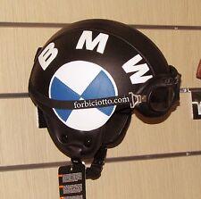 CASCO IN PELLE CAFE RACER BMW HARLEY DAVIDSON VESPA TRIUMPH CUSTOM LOGO 3D