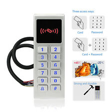 Waterproof Door Access Control System Keypad Entry Controller Backlit Antivandal