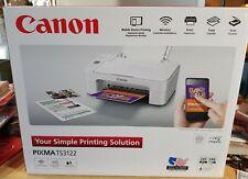 Canon Pixma TS-3122 Wireless All-in-One Inkjet Printer White (** NO INK**)