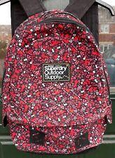 Superdry Outdoor Supply Backpack Pink With Flower/Floral Design