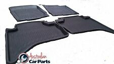 Mitsubishi Triton MN ML Rubber Mats 2007-2020 High side Dual cab New Genuine