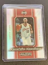 "LeBron James ""Rookie Review"" 2004-05 Upper Deck Diamond Collection RR12 -Rare SP"