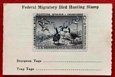 1958 US Washington Hunting Duck License Stamps SC#RW25