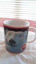 1996 Coca Cola Polar Bear collector's coffee cup-mug.