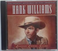 Hank Williams Legendary Country Singers CD Time Life Music Honky Tonk Country