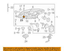 VOLVO OEM 10-13 C30 Headlight Head Light Lamp-Controller 31297423
