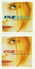 KYLIE MINOGUE GREATEST REMIX HITS 1,2,3,& 4, 8 CD SET AUSTRALIA 1998 MUSHROOM