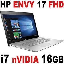 "HP Envy 17 i7-8550U 16GB 1TB FHD 17.3"" nVIDIA MX150 Touch Screen B&O Laptop"