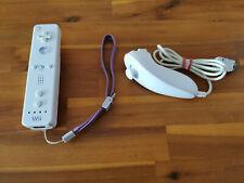 orig. NINTENDO REMOTE CONTROLLER & NUNCHUK  weiß ► NINTENDO Wii & Wii U ◄