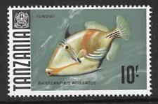 TANZANIA SG156 1967  10/-  FISH  MNH