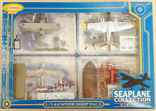 F-toys 1/144 Seaplane Collections Completed set 8 models in special box.