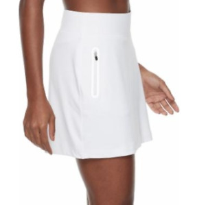 FILA Golf Skort Womens XL Authentic Tru-Golf Stretch Woven Built In Shorts White