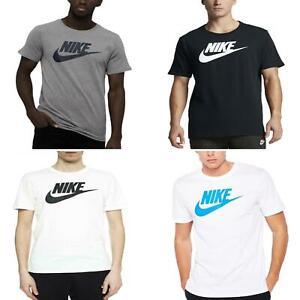 Nike Mens T Shirt Sports Short Sleeve Crew Neck Gym Futura Icon Casual Tee Top
