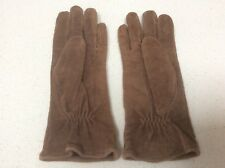 Brown Pigskin Leather Gloves