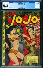 Jo-Jo Comics #12 CGC 6.5 1948- Great headlight cover 2112107015