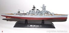 Kongo BARCO DE METAL 20-25 CMS Japanese WWII Battleship boat