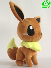 12'' Pokemon Eevee イーブイ Iibui Plush Anime Stuffed Animal Toy Game Doll PNPL9209