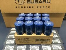 OEM Subaru Engine Oil Filter & Gasket 15208AA15A Geniuine Impreza Legacy 12 PACK