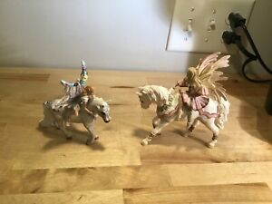 Schleich 2007 & 2008 horses with winged fairies