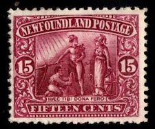 #114 Newfoundland Canada mint