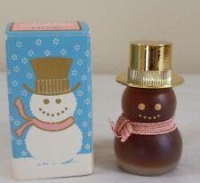 Vintage Avon Bird of Paradise Perfume Miniature Snowman 1/4 oz