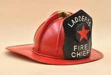 Perfect Gift For Fireman In your Life Ladder 55 Metal Chief Hat Decor Desk Decor