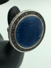 John Hardy *VERY RARE* Blue Sapphire Amethyst Sterling Silver Ring - Stunning!