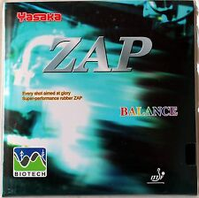 Yasaka ZAP BIOTECH table tennis Rubber/Sponge, Balance Model, OZ Seller
