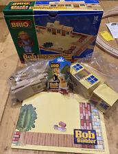 Brio 32813: Bob The Builder's Wooden House, Wooden Railway, Thomas NEW