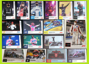 ⭐NEW Topps Now F1 Cards 1-25 Hamilton Russell Perez Verstappen Ferrari Mercedes⭐