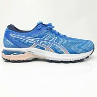 Asics Womens GT 2000 8 1012A591 Blue Running Shoes Lace Up Low Top Size 8