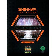 SHINHWA - GRAND TOUR IN SEOUL THE RETURN 3DVD KOREA EDITION SEALED SHIN HYE SUNG