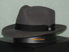 c6e6ed4b613 Stetson Solid Fedora Hats for Men