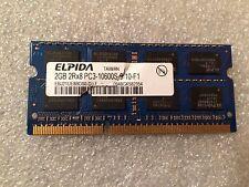 Memoria Sodimm DDR3 Elpida EBJ21UE8BDS0-DJ-F 2GB PC3-10600 1333MHz CL9 204 Pin