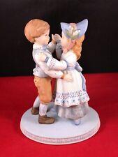 """Vtg1980 Holly Hobbie Porcelain Figurine """"Love is Music."""" Designer Collection Le"""