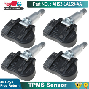 4X TPMS Sensor Fits For Land Rover Discovery Evoque Velar LR010502 AH52-1A159-AA