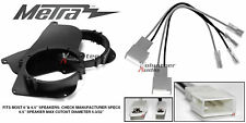 """Metra 82-8140 6"""" - 6.5"""" Speaker Adapter Install Parts Harness For Toyota Tacoma"""