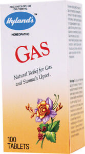Gas by Hyland's Homeopathic, 100 tablets