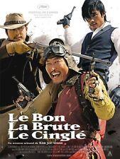 Affiche 120x160cm LE BON, LA BRUTE ET LE CINGLÉ 2008 Kim Jee-woon NEUVE