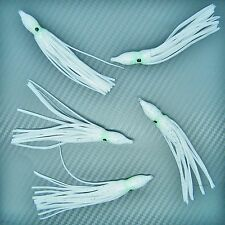 5 Squid Muppets Skirts Sea Fishing Tackle Lures Up-tide Boat Rod Jigs Pirks Rigs