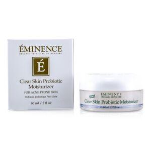 NEW Eminence Clear Skin Probiotic Moisturizer - For Acne Porne Skin 60ml Womens