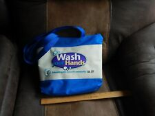 "Cdc_Usda (Brevis Corp.) ""Wash Your Hands"" Tote Bag Kit ~ Edu. Info ~ Hygiene Usa"