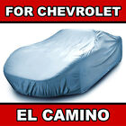 Fits [CHEVY EL CAMINO] CAR COVER ☑� All Weather ☑� 100% Waterproof ✔CUSTOM✔FIT  for sale