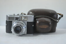 Voigtlander Vitomatic II 35mm rangefinder Camera with Case