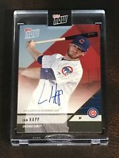 2018 TOPPS NOW #OD-312D IAN HAPP ROAD TO OPENING DAY AUTO # 6/10
