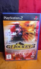 G1 Jockey 3 - Sony PS2 - No Manual