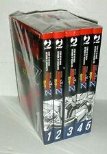 Fumetto Manga J-POP GO NAGAI MAZINGER Z SERIE COMPLETA 1/5 DELUXE NUOVO MAZINGA