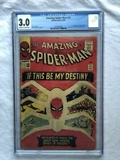 Amazing Spider-Man #31 CGC 30 OW/WP 1st Appearance Gwen Stacy Harry Osborn 1965